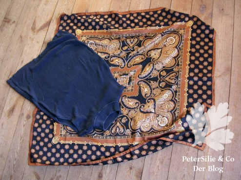 upcycling-ballonkleid-tshirt-seidentuch