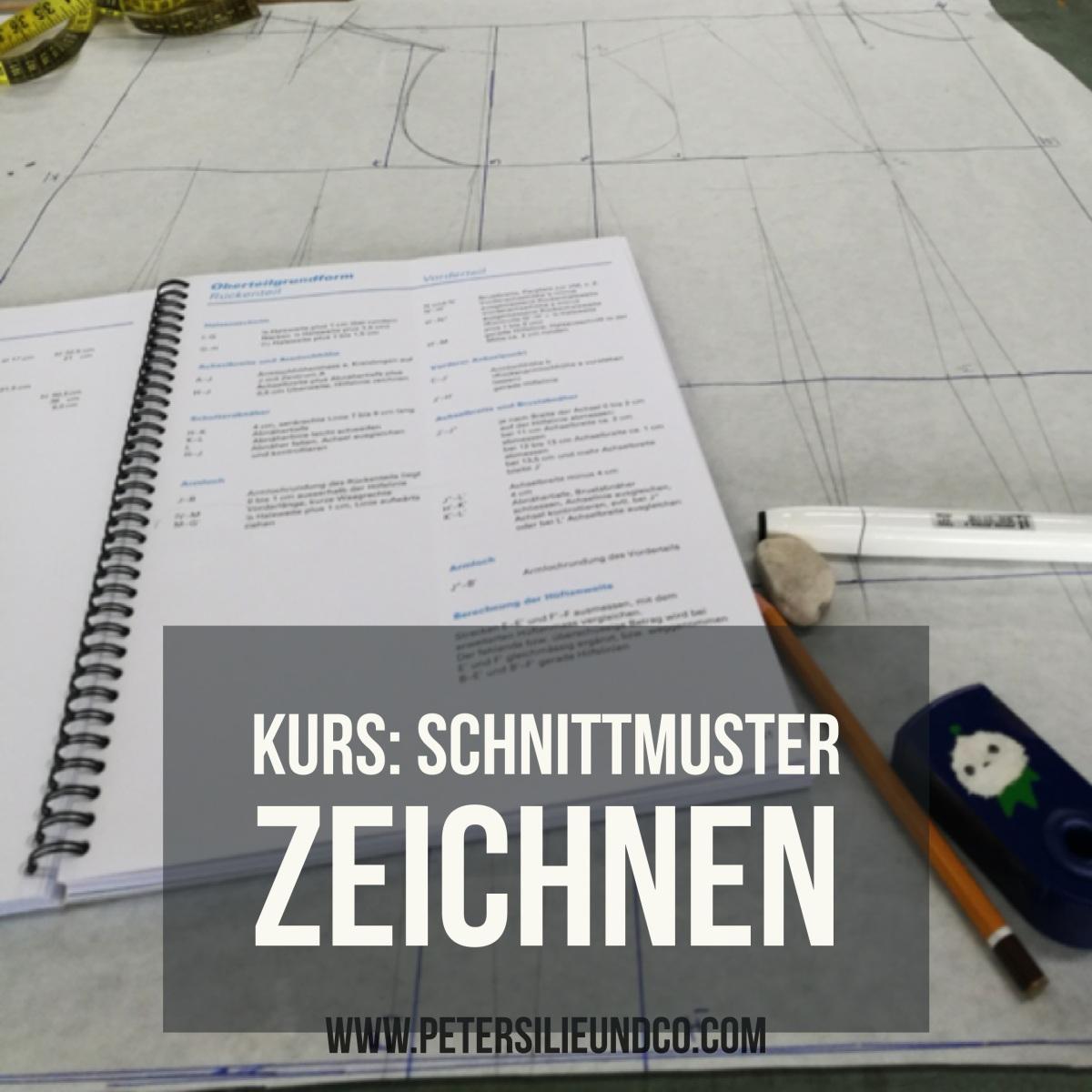 Schnittmusterzeichnen Workshop – Eine Erfahrung – PeterSilie & Co