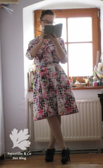 neuer-schnitt 1962-november Zweiteiliges Kleid nähen 60er Vintage