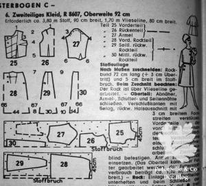 neuer-schnitt 1962-november Schnittmuster 60er