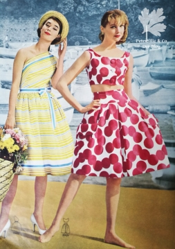 Beyer Mode, Vintage Sommerkleider Schnitt
