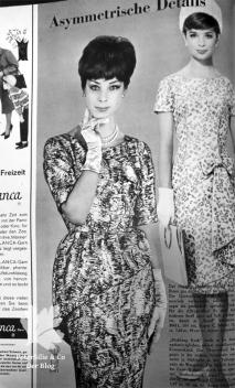 Neuer Schnitt, 60er 50er Vintage Kleid