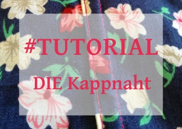 Tutorial Kappnaht