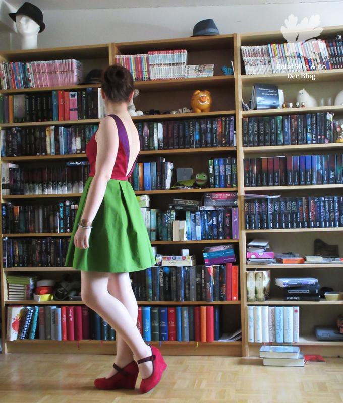 Lieblings Kleid nachnähen, Rückenansicht