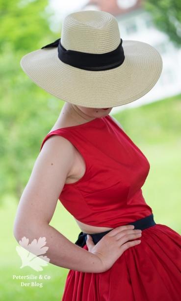 Beyer Mode 6 1961, Vintage Kleid nähen, zweiteilig, Rückenauschnitt