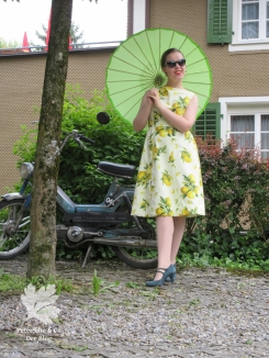 Beyer Mode April 1962 Vintage Kleid nähen