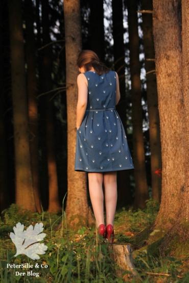 Nähkind Retroliebe Kleid Jeans nähen