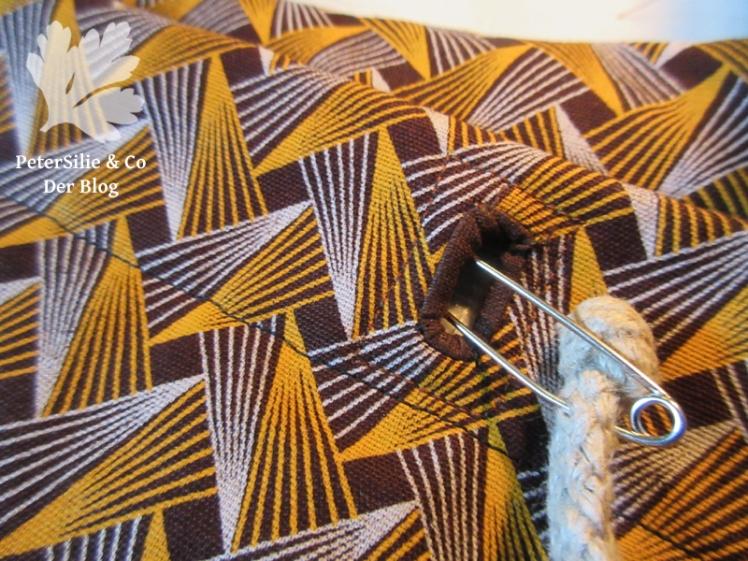 Shweshwe-Ruchksack für Karlotta Pink 4