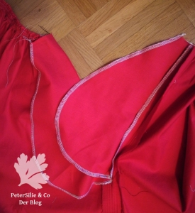 Tutorial Beidseitiger Nahttaschenverschluss mit Bindebändern