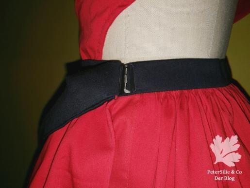 geschlossener Nahttaschenverschlus