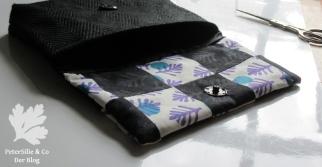 Tasche Siebdruck Patchwork