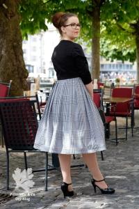 Beyer Mode 2 1959 Kleid nähen Vintage Schnitt Blog 50s Neuer Schnitt Jäckchen