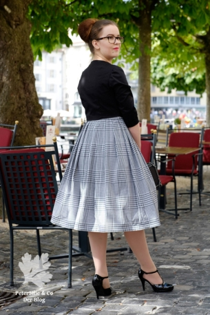 Beyer Mode 2 1959 Kleid nähen Vintage Schnitt Blog 50s Neuer Schnitt Jäckchen