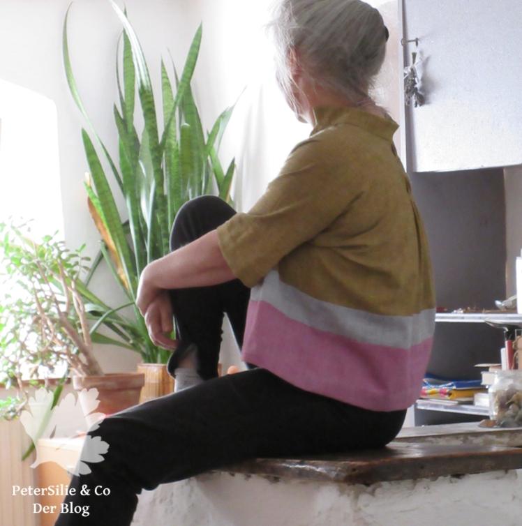 Bluse Schema Handloom Karlotta Pink