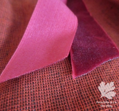 Handloom Karlotta Pink 20er Jahre Kleid nähen Samtband