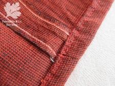 Handloom Karlotta Pink 20er Jahre Kleid nähen Saum