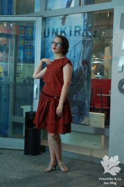 Handloom Karlotta Pink 20er Kleid Schemaschnitt Vintage nähen Blog