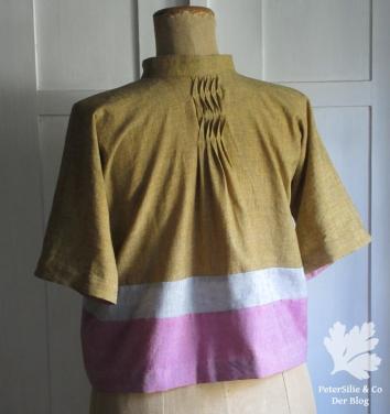 Bluse Rücken Handloom Karlotta Pink