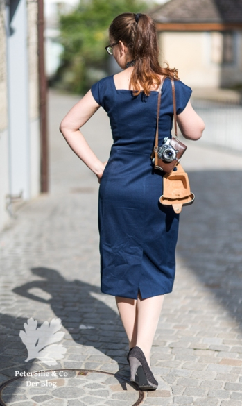 Burda Fifties-Kleid 09/2006 #193, 193-092006-DL, Vintage Kleid nähen Blog