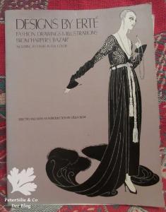 Designs by Erte Buch Porträt