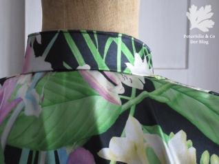 Kimonobluse Kragen