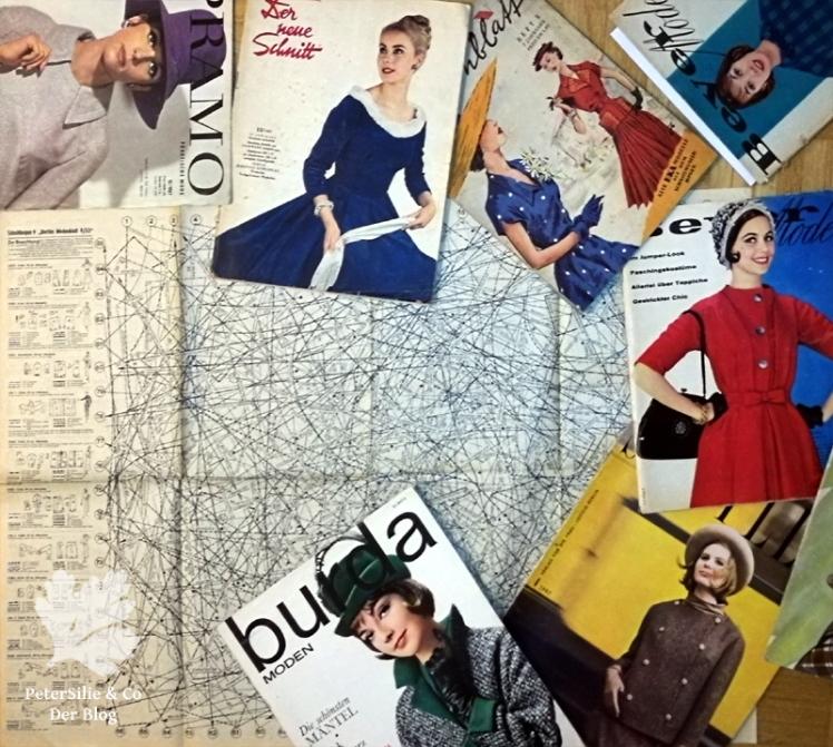 Vintage Schnitte nähen Blog Kleid