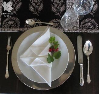 Tischläufer Paisley Blockprint karlotta Pink