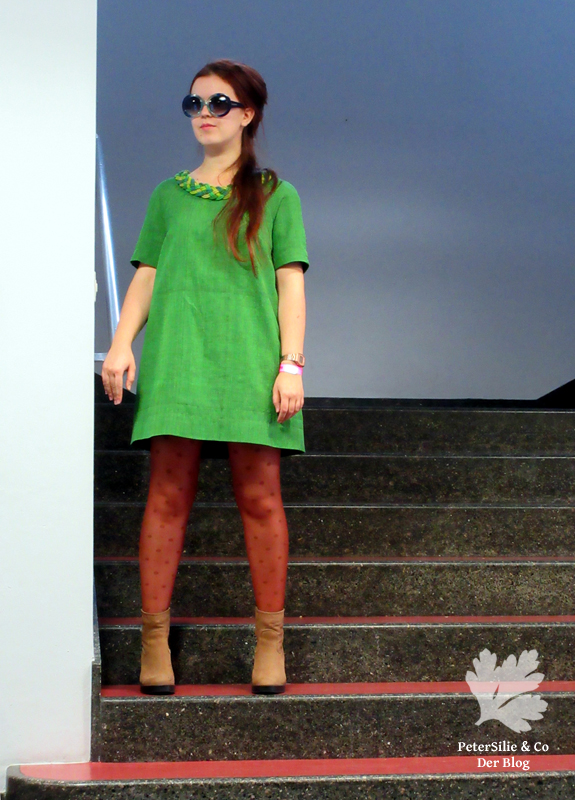 Kleid 02/2014 #112 Burda 112-022014-DL Karlotta Pink Handloom 60s Vintage Grün Nähblog Creating Couture Embellishment