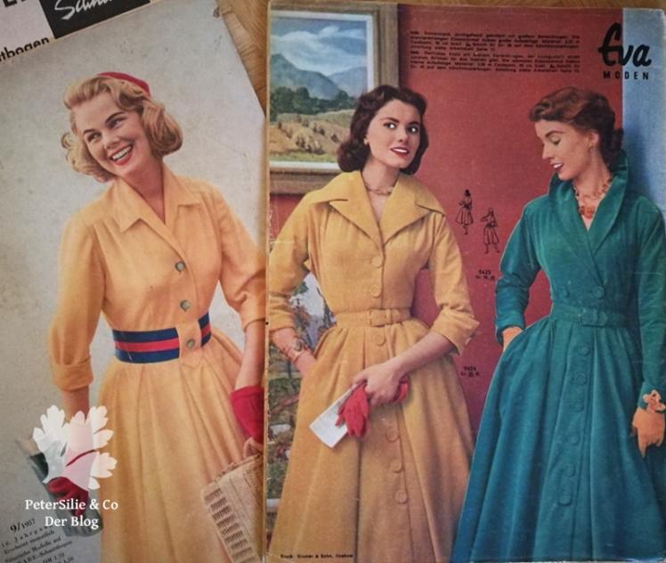 Vintagekleider nähen Vintageblog Inspiration der neue Schnitt Eva Moden