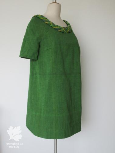 Kleid 02/2014 #112 Burda 112-022014-DL Karlotta Pink Handloom 60s Vintage Grün Nähblog