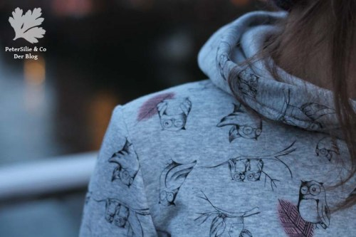 Ottobre Hide Away Sweater Hoodie nähen