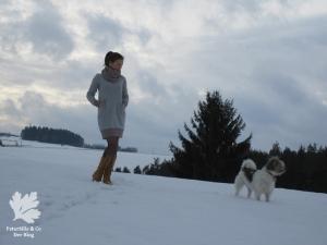 Ottobre Hide Away Stoff und Stil Kleid Winterkleid