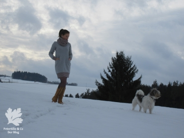 Ottobre Hide Away Stoff und Stil Kleid Winterkleid