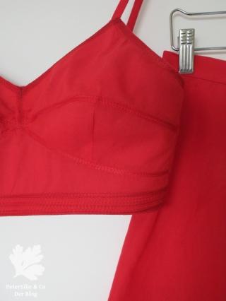 rote wäsche