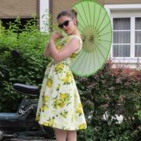 beyer mode april 1962 kleid