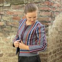Fashionstyle Jackenbausatz Ethnostreifen