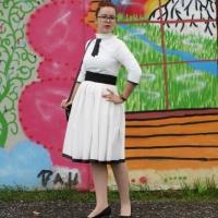 pierrot vintage kleid