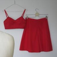 Rote Wäsche Vintage