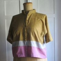 Bluse Colorblocking