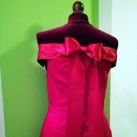 Teufel selbstgezeichnet Kleid rot
