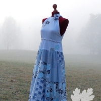 upcycling maxikleid