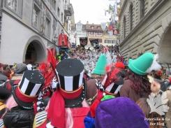 Fasnacht Luzern Rathaus Stiege