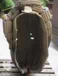 Maske von innen Karton Pappmache selber bauen
