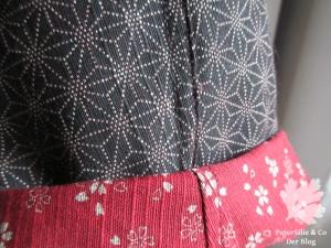 ternatioWendebluse/Jacke BuWendebluse/Jacke Burda International Frühling 84 japanischer Double-Face Karlotta Pink