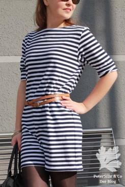 timpetee schneidermeistern kleid nähen streifen streifenkleid t-shirtkleid