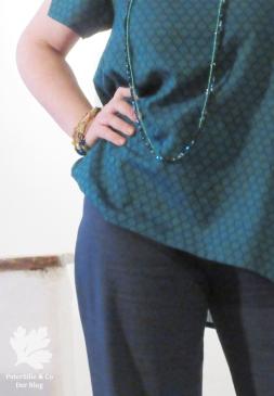 Top Simplicity Meine Nähmode Modell 27 Hose La mia Boutique Juli2000