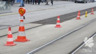 Warnhinweis im Strassenverkehr