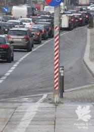 Warnhinweis im Straßenverkehr