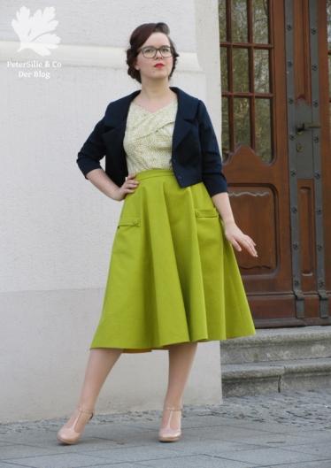 Karlotta Pink Grün Handloom Blockprint Vintage Kleid nähen Blog der neue Schnitt Beyer Mode