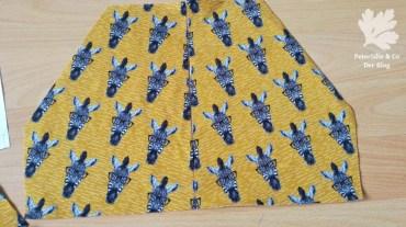 Zebra Kangaroo-Taschen schräg